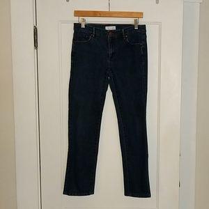 The Loft Modern Straight jeans, sz 27/4